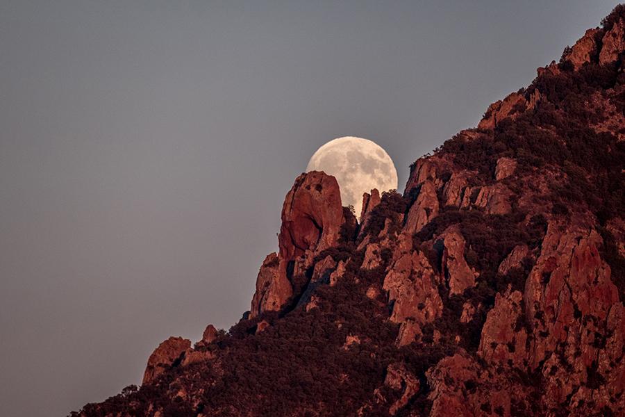 Levé de Lune - Scandola