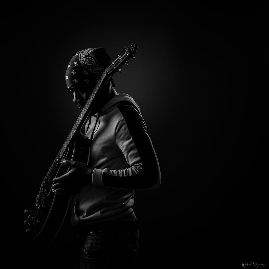 Fred, guitariste